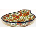 Polish Pottery Friendship LG 22oz. SHELL DISH | Unikat