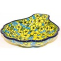 Polish Pottery Citrine LG 22oz. SHELL DISH | Unikat