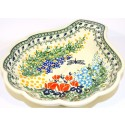 Polish Pottery Dragonfly LG 22oz. SHELL DISH | ARTISAN