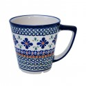 Polish Pottery SWEETIE PIE 13.5-oz Stoneware Latte Mug | ARTISAN