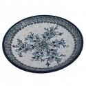 "Polish Pottery SEA GARDEN 7.75"" Stoneware Salad Plate | ARTISAN"