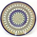 "Polish Pottery 7.75"" ENCHANTING Stoneware Salad Plates | ARTISAN"