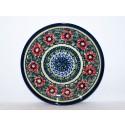 "Polish Pottery PASSION 7.75"" Stoneware Salad Plate | UNIKAT"