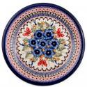 Polish Pottery STRAWBERRY BUTTERFLY 6.5-inch Stoneware Bread & Butter Plate | UNIKAT