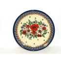 "Polish Pottery EMPRESS 7.75"" Stoneware Salad Plate | UNIKAT"
