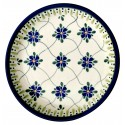 "Polish Pottery 7.75"" SWEETHEART Stoneware Salad Plate | ARTISAN"