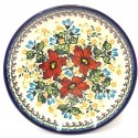 "Polish Pottery WARM GLORY 7.75"" Stoneware Salad Plate | EX-UNIKAT"