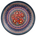 "Polish Pottery CHERISHED FRIENDS 6.5"" Bread & Butter Stoneware Plate 