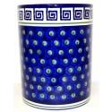 "Polish Pottery ATLANTIS 7"" Stoneware Utensil Jar | CLASSIC"