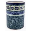 "Polish Pottery DEAREST FRIEND 7"" Stoneware Utensil Jar | ARTISAN"
