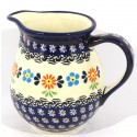 Polish Pottery 3.6 Cup HERITAGE Pitcher | CLASSIC