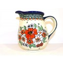 Polish Pottery EMPRESS 3.6-Cup Stoneware Pitcher | UNIKAT