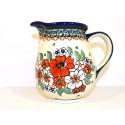 Polish Pottery 3.6 Cup EMPRESS Pitcher | UNIKAT