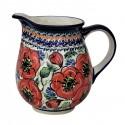 Polish Pottery BELLISSIMA 3.6-Cup Stoneware Pitcher | EX-UNIKAT