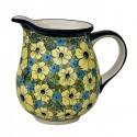 Polish Pottery CITRINE 3.6-Cup Stoneware Pitcher | UNIKAT