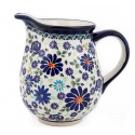 Polish Pottery 4TH OF JULY 3.6-Cup Stoneware Pitcher | ARTISAN