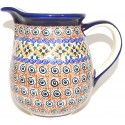 Polish Pottery 3.6 Cup INDIA Pitcher  | ARTISAN