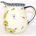 Polish Pottery 3.6 Cup WISH Pitcher | ARTISAN