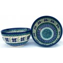 Polish Pottery DEAREST FRIEND 2-Cup Stoneware Cereal-Salad Bowl | ARTISAN