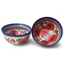 Polish Pottery BELLISSIMA 2-Cup Stoneware Cereal-Salad Bowl | EX-UNIKAT