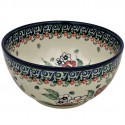 Polish Pottery EMPRESS 2-Cup Stoneware Cereal-Salad Bowl | UNIKAT