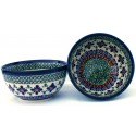 Polish Pottery SWEETIE PIE 2-Cup Stoneware Cereal-Salad Bowl | ARTISAN