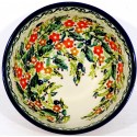 Polish Pottery 2 Cup SEASONS Cereal Bowl | UNIKAT