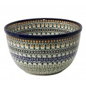 Polish Pottery ENCHANTING 4-Cup Stoneware Mixing Bowl | ARTISAN