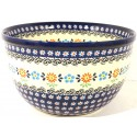 Polish Pottery HERITAGE 9-Cup Stoneware Mixing Bowl | CLASSIC