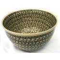 Polish Pottery ELEGANT TIMES 14-Cup Stoneware Mixing Bowl | CLASSIC