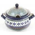 Polish Pottery SWEETIE PIE 12.5-Cup Stoneware Soup Tureen | ARTISAN