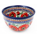 "Polish Pottery 6"" BELLISSIMA Mixing Bowl 