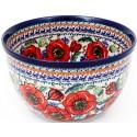 Polish Pottery BELLISSIMA 9-Cup Stoneware Mixing Bowl | EX-UNIKAT