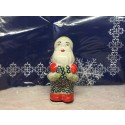 Polish Pottery SWEETIE PIE Santa Claus Figurine | ARTISAN