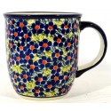 Polish Pottery FRIENDSHIP 12-oz Stoneware Mug | ARTISAN