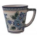 Polish Pottery NORDIC 13-oz Latte Stoneware Mug | UNIKAT