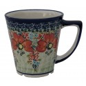 Polish Pottery CHAMPAGNE 13-oz Latte Stoneware Mug | UNIKAT