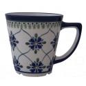 Polish Pottery SWEETHEART 13-oz Latte Stoneware Mug | ARTISAN