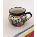 Polish Pottery Butterfly Merry Making 16-OZ Bubble Mug | UNIKAT