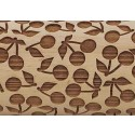 "4.5"" Embossing Rolling Pin Cherry Pie"