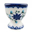 Polish Pottery STAR GAZER 2.25-inch Stoneware Egg Cup | CLASSIC