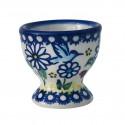 Polish Pottery WINSOME 2.25-inch Stoneware Egg Cup | UNIKAT