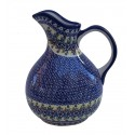 Polish Pottery Vena JOANN Designer Zeus Stoneware Pitcher | UNIKAT