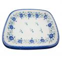 Polish Pottery STAR GAZER 10-inch Stoneware Rectangular Platter (SM) | CLASSIC