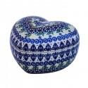 Polish Pottery Vena JOANN Heart Stoneware Box | UNIKAT