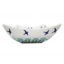 Polish Pottery SOARING 8x8-inch Stoneware Toffi Serving Bowl | CLASSIC