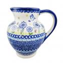 Polish Pottery WINSOME Stoneware Apollo Pitcher (LG) | A-UNIKAT