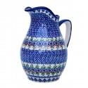 Polish Pottery Vena JOANN Eva Stoneware Pitcher | UNIKAT