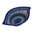 "Polish Pottery Vena JOANN 8"" Swirl Flared Stoneware Bowl | UNIKAT"