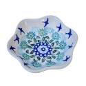 Polsih Pottery SOARING Stoneware 10-oz Boho Bowl   CLASSIC